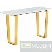 Carrie Gold Console table