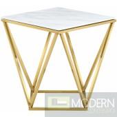 Genoa Gold Side Table