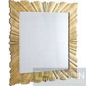 Savannah Gold Leaf Mirror