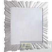 Savannah Silver Leaf Mirror