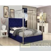 Porter KING Velvet Upholstered Bed LOCAL DMV DEALS