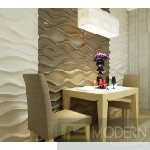 OCEANO - Textured PVC Glue on Wall 3D tiles - Box of 12 - 32 Sq Ft Exterior & Interior