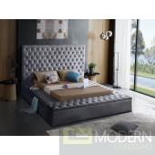 Hermes Queen Velvet Upholstered Bed LOCAL DMV DEALS