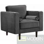 Andromeda Velvet accent chair