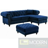 Carlo Velvet Sectional