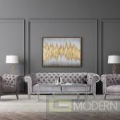 Chesterfield style Velvet Grey Sofa MCCA-2101484
