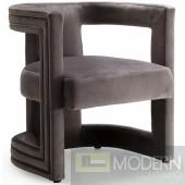 Joelle Velvet Dining/Accent Chair  Instore