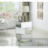 Impilati Mirrored End table