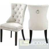 Amara Velvet Dining Chair - Set of 2  LOCAL DMV DEALS