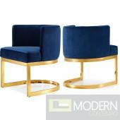 Franco Velvet armchair with gold base  INSTORE ITEM DMV deals