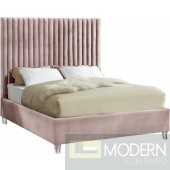 Candace Full Velvet Upholstered Bed LOCAL DMV DEALS