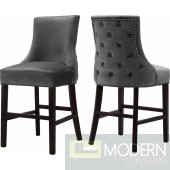 Sophie Velvet Bar Stool