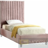 Candace Twin Velvet Upholstered Bed LOCAL DMV DEALS