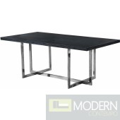 Trento Chrome Dining table