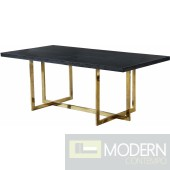 Trento Gold Dining table