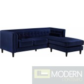 Rosa Velvet Reversible Sectional