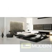 Hana Contemporary Platfrom Bed