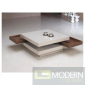 CT1266 White Lacquer Coffee Table