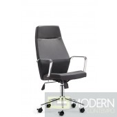 Holt High Back Office Chair Black PU