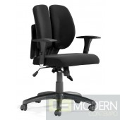 Aqua Office Chair Black Mesh
