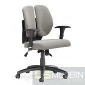 Aqua Office Chair Gray Mesh