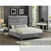 Adonis KING Velvet Upholstered Bed LOCAL DMV DEALS