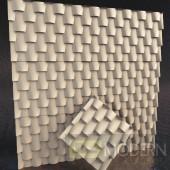 TexturedSurface 3d wall panel TSG215