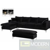Natalia Velvet Reversible Sectional