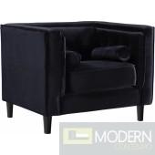Tempest Velvet Chair, In Store Item.