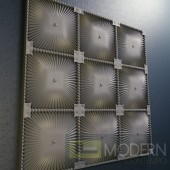 TexturedSurface 3d wall panel TSG15