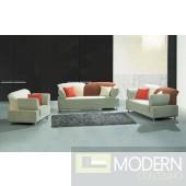 2257 - Modern Fabric Sofa Set