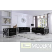 3Pc Aurora Velvet living room set
