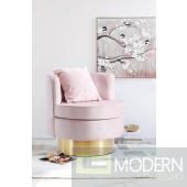 Phaedra Velvet Swivel Accent Chair In Store