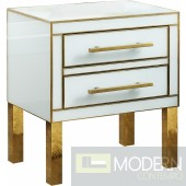 Anabel Side Nightstand gold