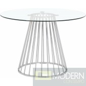 Rondo Dining table Chrome
