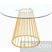 Rondo Dining table Gold