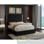 Ballys Black Velvet Bed LOCAL DMV DEAL