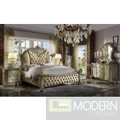 Luxury Gold PU leather Gold Patina Finish with Velvet Bed. MCNJ1004