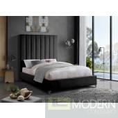 Demi Velvet Bed