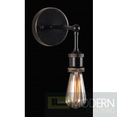 Zuo Modern MISERITE WALL LAMP ANTI BLK GD & COPPER  - LOCAL DMV DEALS