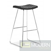 Crescent Bar Chair Black