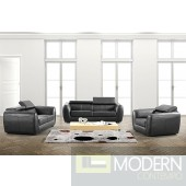 Divani Casa 3012 - Modern Bonded Leather Sofa Set