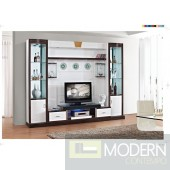 Contemporary Modern wall unit entertainment center MCSS305