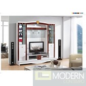 Contemporary Modern wall unit entertainment center MCSS309