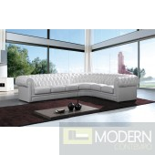 Modern Leather Sectional Sofa  MCNV310B