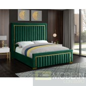 Dolce Green Velvet king Upholstered Bed LOCAL DMV DEALS
