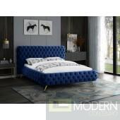 Khloe Velvet Bed