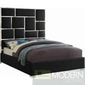 Verona faux leather bed