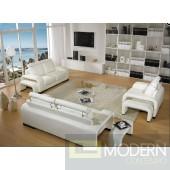3339C - Modern Bonded Leather Sofa Set