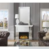 Jazmine Mirrored Electric Fireplace